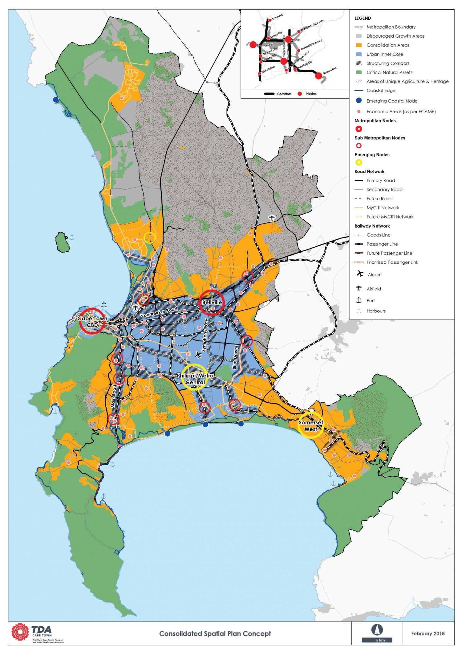 Cape Town Spatial Framework - City Plan - Urban Planning