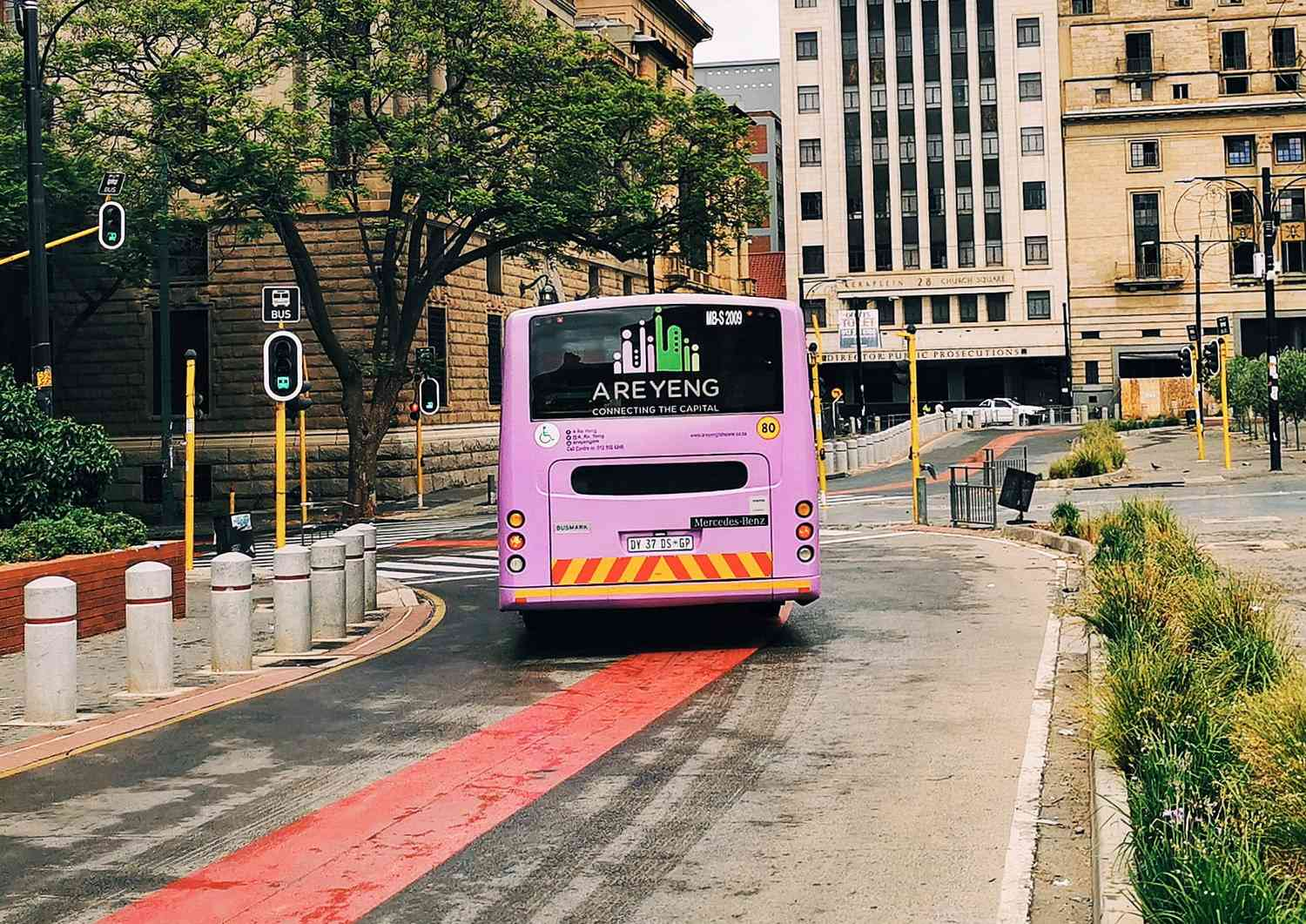 Mobility and Public Transport - Bus - Pretoria, South Africa - Urban Planning