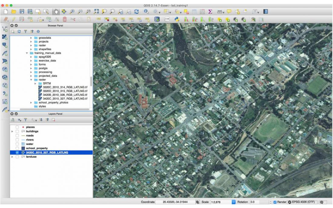 QGIS - Urban Planning Software and Tools