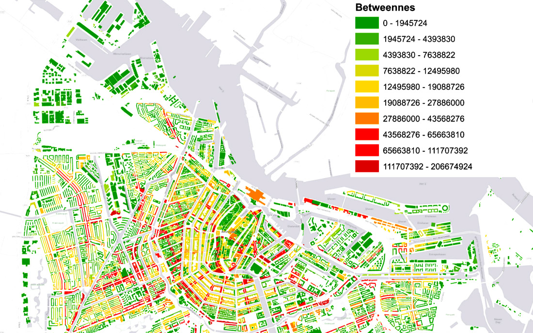 Urban Network Analysis Toolbox for ArcGIS - City Planning Software